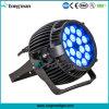 Waterproof RGBW Epistar 18PCS 10W Outdoor LED PAR Lamp