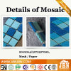 Wholesale Blue Color Glass Mosaic for Pool and Bathroom (H420034)