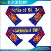 Sports Fans National 100% Acrylic Knitted Scarf (B-NF19F10020)