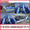 Attractive! Biggest Beach Inflatable Adult Water Slide for Water Park (V-HP-050)