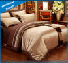 Suede Foiling 4PCS Bedding Duvet Cover Set