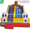Inflatable Combo Water Slide with Bounce House for Sale (DJWSMD800008)