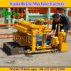 Qt40-3A Small Semi Automatic Hydraulic Mobile Brick Machine