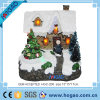 2016 New Christmas Decorative Resin House with LED Light