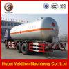 Liquefied LPG Gas Tank Truck