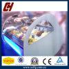 Easy Setting Gelato Ice Cream Display Freezer