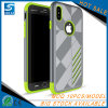 Bulk From China TPU PC Shockproof Black Cases for iPhone 8