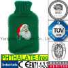 CE Knit Santa Hot Water Bottle Cover Christmas