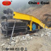 P150b Engineering Electric Scraper Bucket Rock Loader with Double Drum Winch