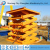 2t Stationary Hydraulic Scissor Lift with Ce Warehouse