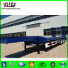 Tri Axle 60ton Low Bed Pulling Semi Trailer
