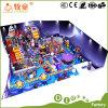 Indoor Soft Playground Fiberglass Slide Certificate Climging Trampoline Foam Area