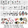 Watertransfer Tattoo Sticker /Body Sticker