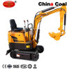 Gh10 Orchard Use Mini Wheel Road Crawler Excavator