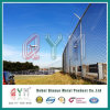 Airport Barb Wire Fence / Coated PVC Galvanized Chain Link Fence
