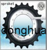 Stainless Steel Carterpiller Sprocket (E200B) (C35. C45. C60)