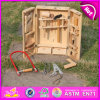 2015 New Wooden Tool Box Toy for Kids, Popular Wooden Toy Tool Box for Children, Wooden Intelligence Game Set for Baby W03D023