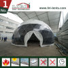 Frame Structure PVC Fabric Geodesic Dome Half Sphere Tent