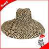 Colour Mixture Raffia Straw Hat