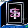 Slim Crystal LED Light Box as Picture Frame for Advertising