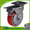 """Mingze Heavy Duty 6"""" Trolley Wheels with Total Brake"""