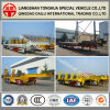 Customised Fuwa Axle Lowbed/Lowboy Semi Truck Trailer