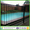 Galvanized and Powder Coated Steel Fence
