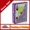Modiano Italian Poker Game Playing Cards - Purple Poker - Large 4 Index - Single Card Deck - 100% Plastic (430146)