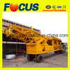 Ce Certificate 35m3/H Mobile Concrete Batching Plant Yhzs35 with Wheels