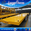 China Supplier 40ft Platform / Flatbed Trailer for Containers