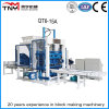 Fully Automatic Cement/Concrete Block Making Machine (QT6-15A)