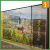 Polyester Fabric Mesh Banner for Barrier or Fence (TJ-OB-033)