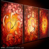 3 Panel Fine Art Group Oil Painting