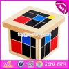 2017 New Design Educational Blocks Wooden Montessori Toddler Materials W12f016