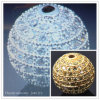 Jewelry Shamballa Crystal Ball Beads, CZ Crystal Bead Newest 2012, Brass Bead