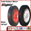 Chinese 10X2 White Rubber Caster Wheel for Sale