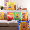 New-Style Animal Pillow 100%Polyester Transfer Print Cushion (LC-80)