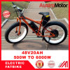 Fat Electric Bike Bicycle, E Bike with High Power 3000W 6000W Fat Bike Ebike