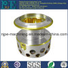 OEM Precision CNC Machining Nickle Plating Brass Lamp Holder
