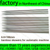 6.0X180mm Bamboo Skewer Without Joint for BBQ Automatic Machine Use