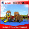 2017 Children Outdoor/Indoor Playground Slide Exercise Equipment OEM/ODM Orders Are Acceptalbe Wooden Series HD16-166A
