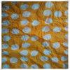 Polyester Chiffon Polka DOT Print, Crepe Finishing