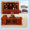 Luxury Large Executive Office Desk Boss Table with Wooden Leg