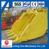 Excavator Bucket with Teeth for Komatsu Crawler Excavator