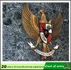 Custom Design Metal Eagle Emblem for Wall