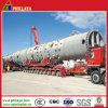 Construction Machinery Heavy Wheeled Transport Semi Trailer
