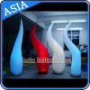 Colorful 10ft Inflatable Lighting Column for Stage Decoration