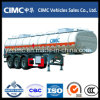 Cimc 3 Axle 40m3 Oil Tanker / Fuel Tanker Semi Trailer