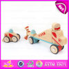 New Design 37PCS DIY Wooden Puzzle 4D Toy, High Quality Intelligent Wooden DIY Car Plane Toy W03b044