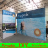 Portable Exhibition Stand Backwall Display with Fabric Printing